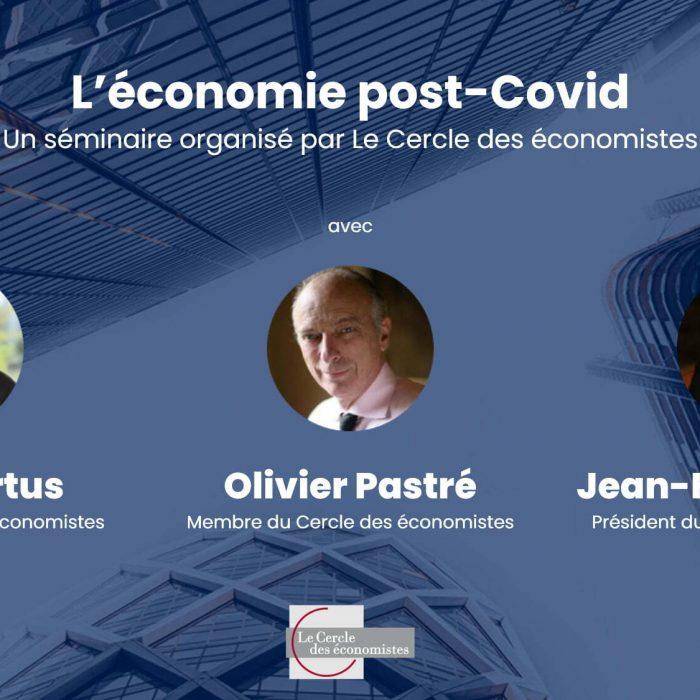 Cercle des économistes séminaire du 25/11/2020